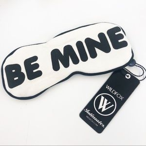 Wildfox Be Mine Valentine Eye Mask New with Tags